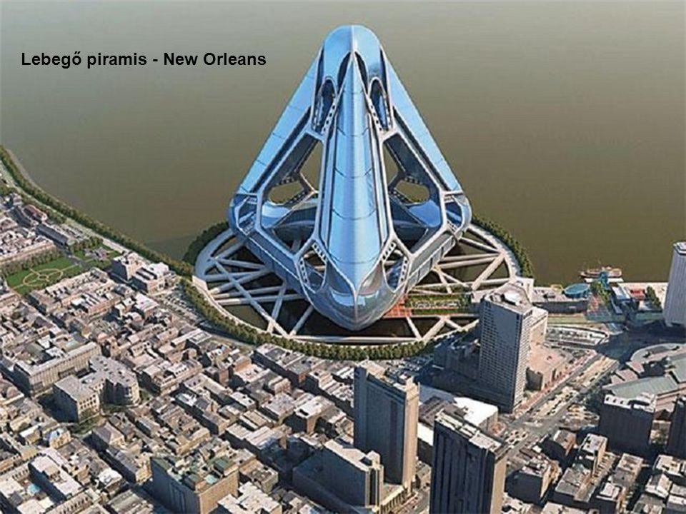 Lebegő piramis - New Orleans
