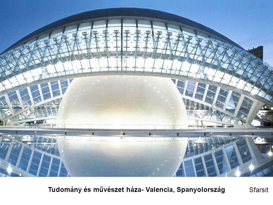 Tudomány és művészet háza- Valencia, Spanyolország