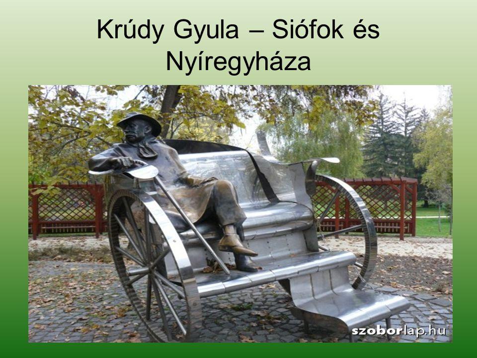 Krúdy Gyula – Siófok és Nyíregyháza