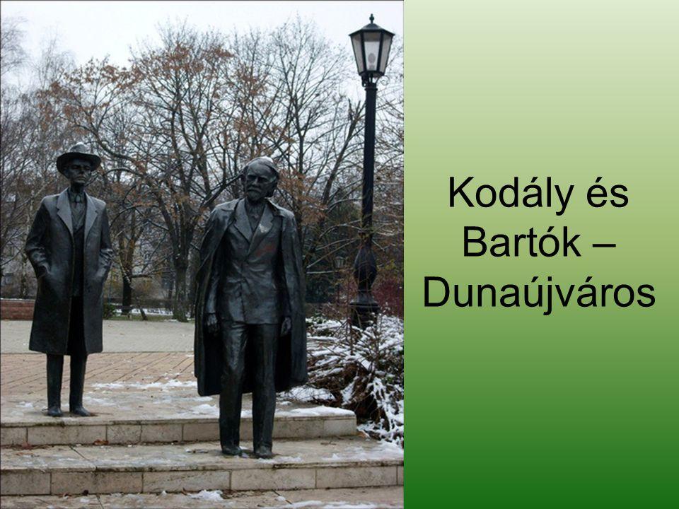 Kodály és Bartók – Dunaújváros