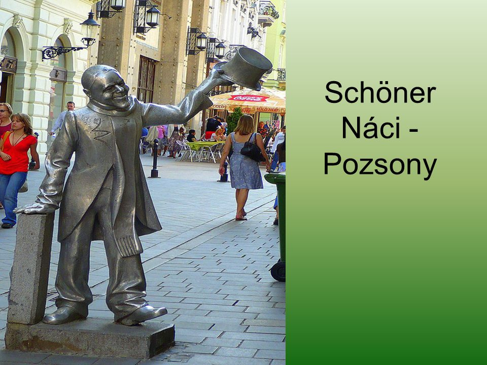 Schöner Náci - Pozsony