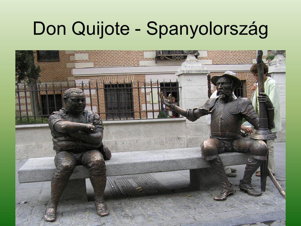 Don Quijote - Spanyolország