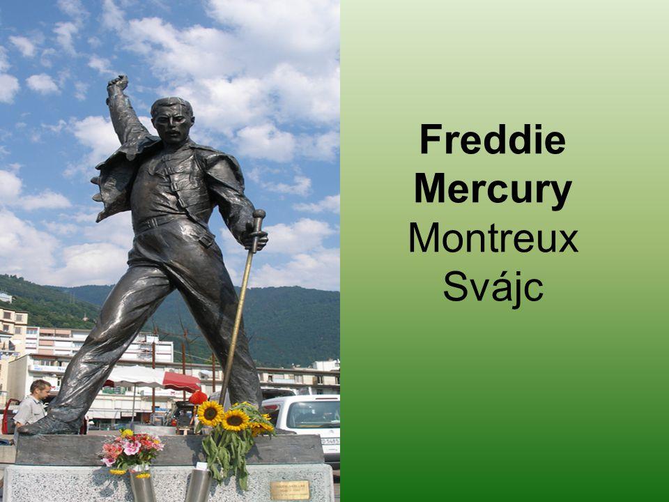 Freddie Mercury Montreux Svájc
