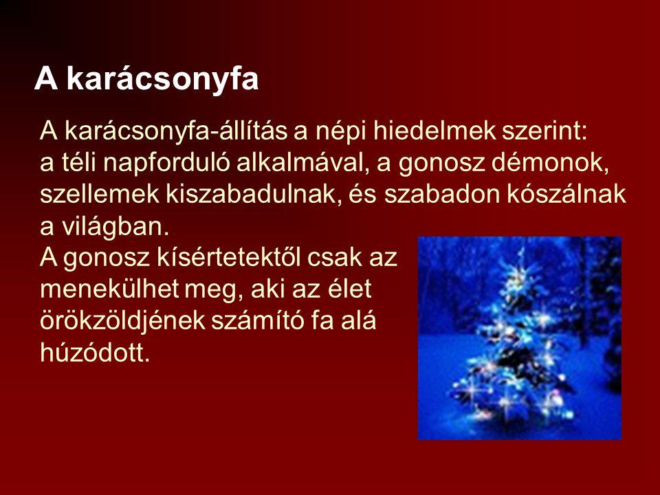 A karácsonyfa