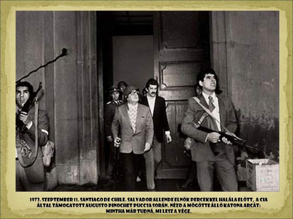 1973. szeptember 11. SANTIAGO DE CHILE