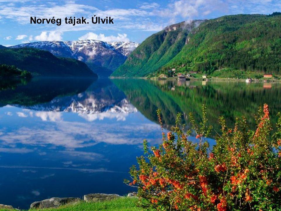 Norvég tájak. Úlvik
