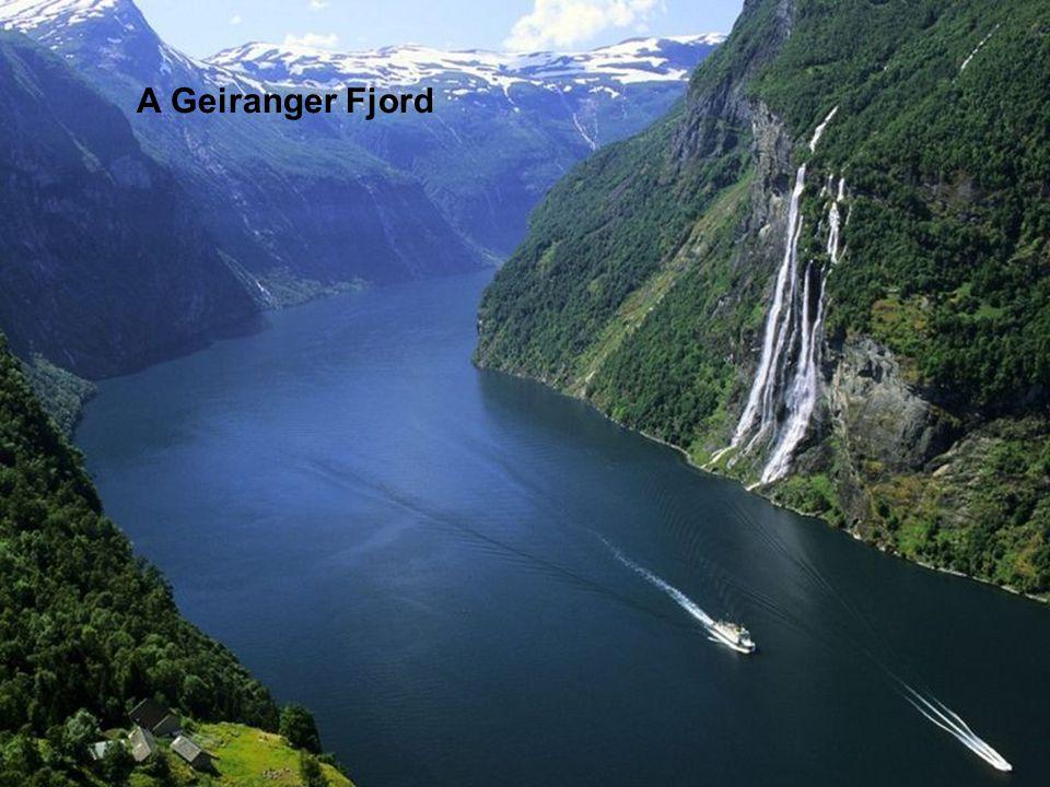 A Geiranger Fjord
