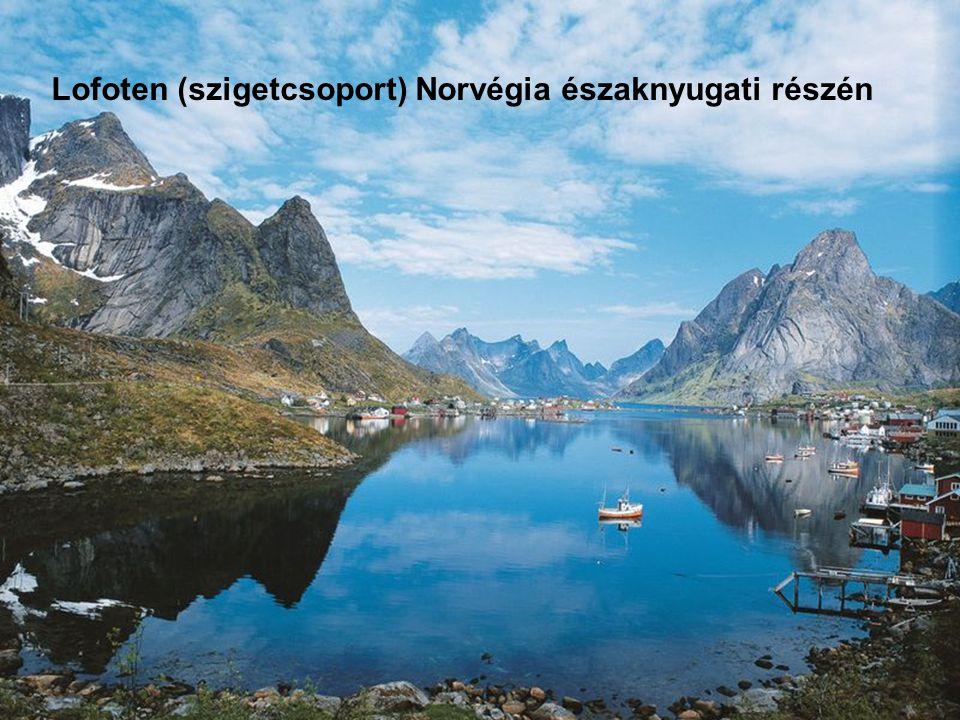 Lofoten (szigetcsoport) Norvégia északnyugati részén