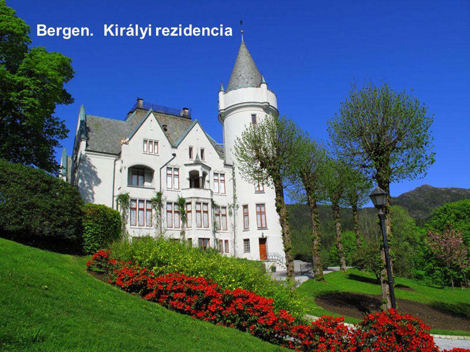 Bergen. Királyi rezidencia
