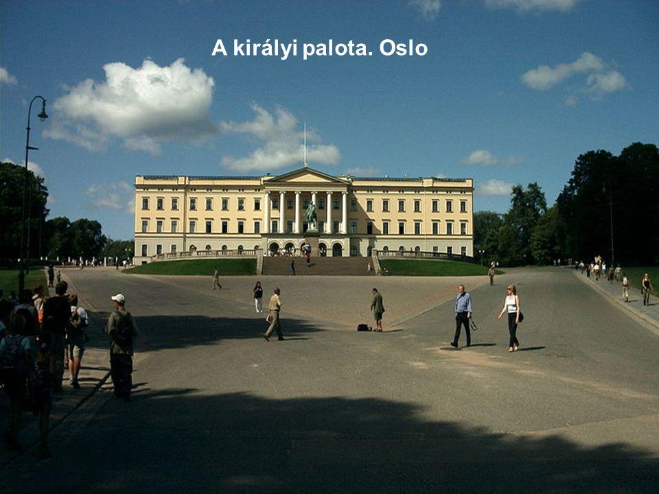 A királyi palota. Oslo