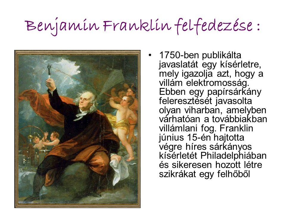 Benjamin Franklin felfedezése :