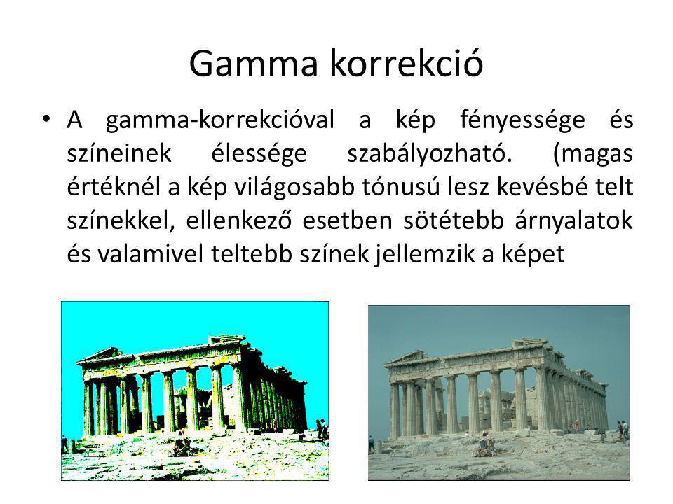 Gamma korrekció