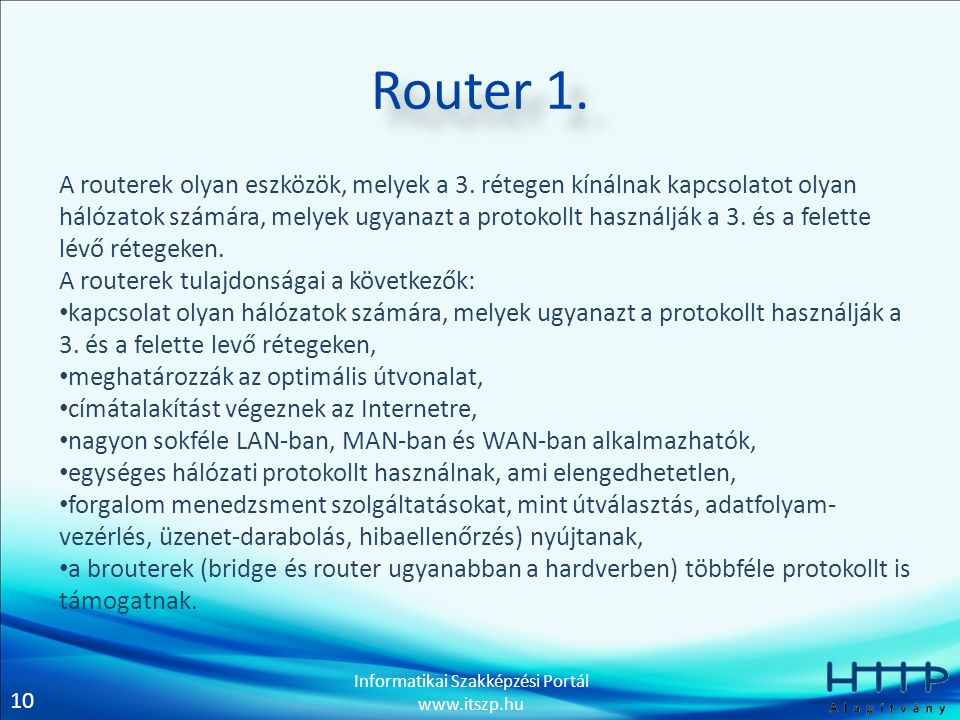 Router 1.