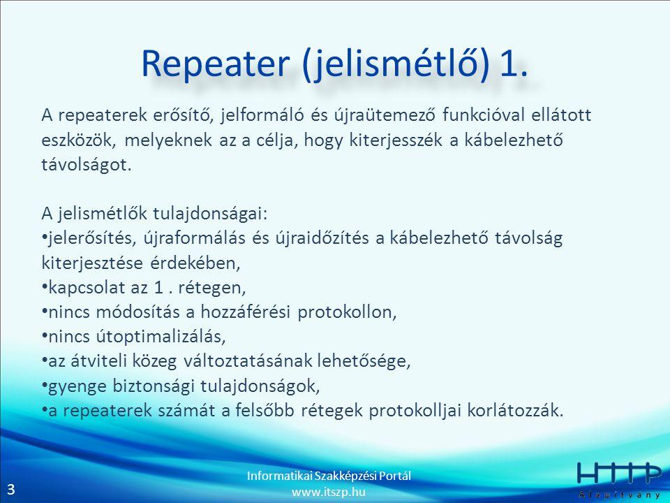Repeater (jelismétlő) 1.