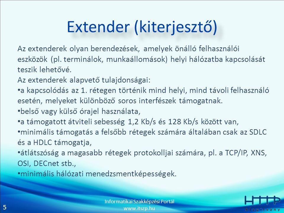 Extender (kiterjesztő)