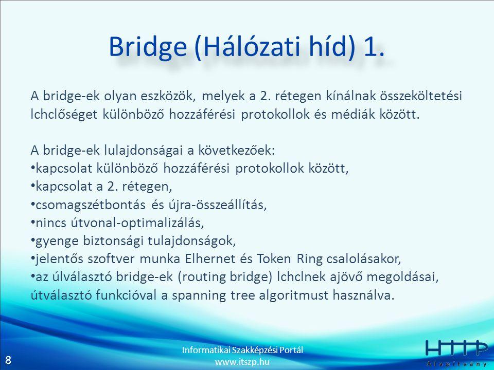 Bridge (Hálózati híd) 1.