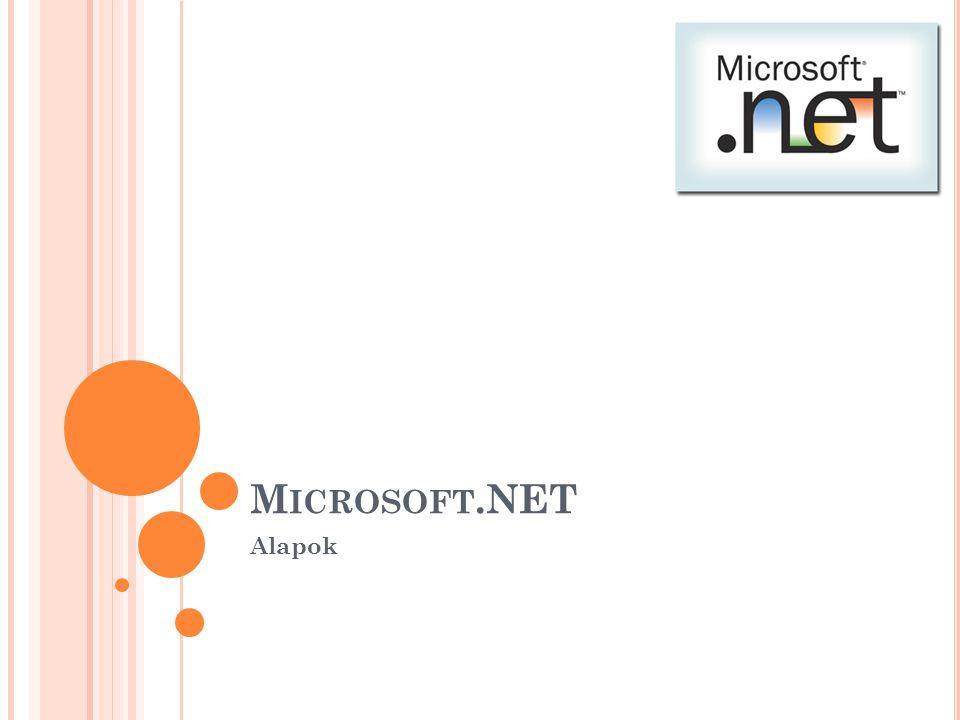 Microsoft.NET Alapok