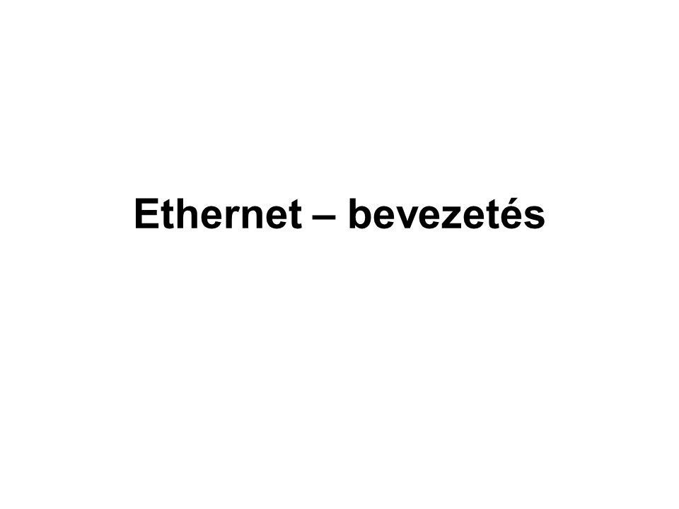 Ethernet – bevezetés