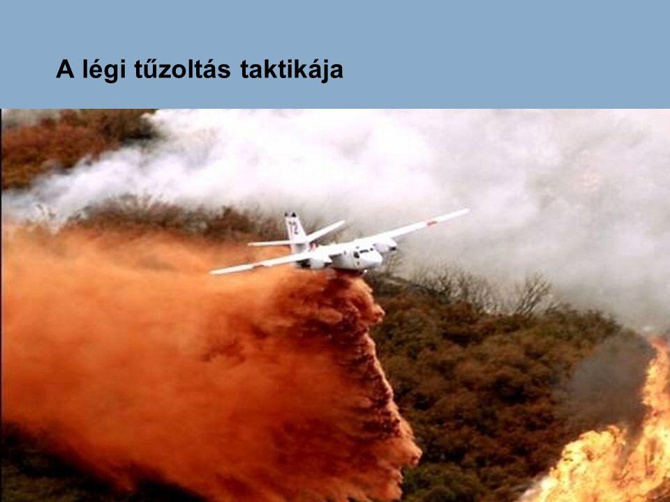 A légi tűzoltás taktikája