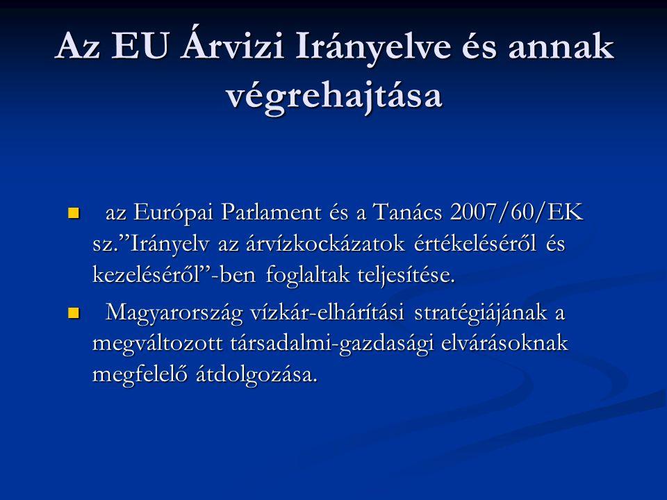 Az EU Árvizi Irányelve és annak végrehajtása