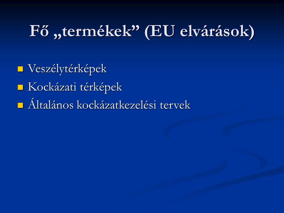 """Fő """"termékek (EU elvárások)"""