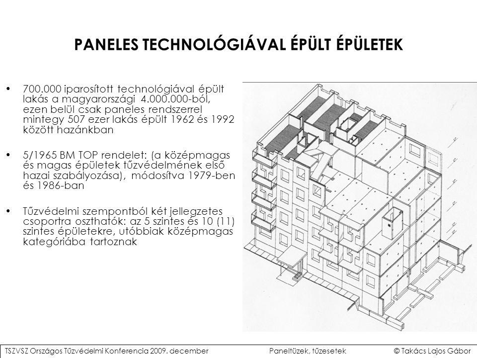 PANELES TECHNOLÓGIÁVAL ÉPÜLT ÉPÜLETEK