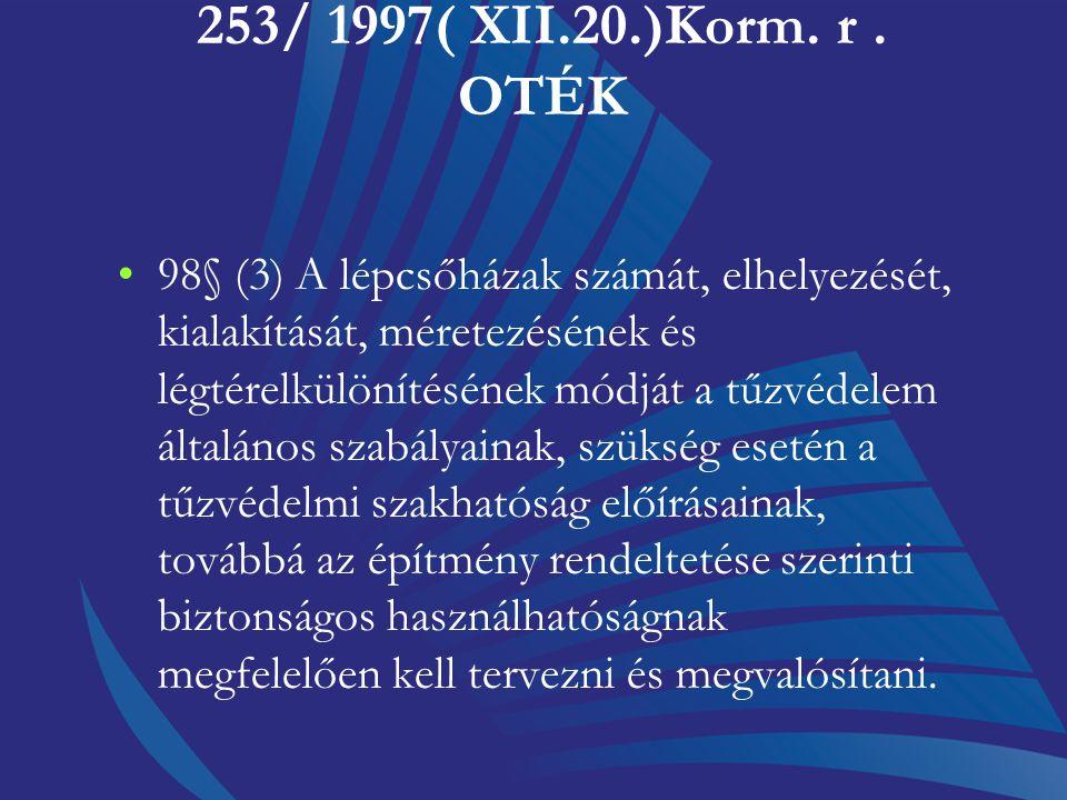 253/ 1997( XII.20.)Korm. r . OTÉK