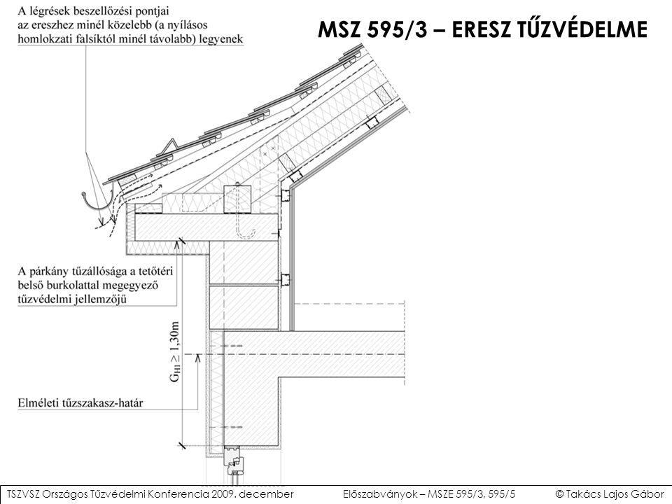MSZ 595/3 – ERESZ TŰZVÉDELME