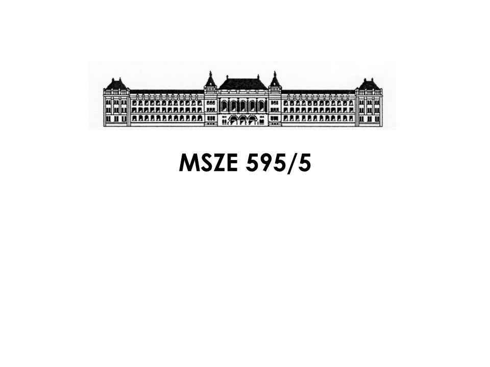 MSZE 595/5