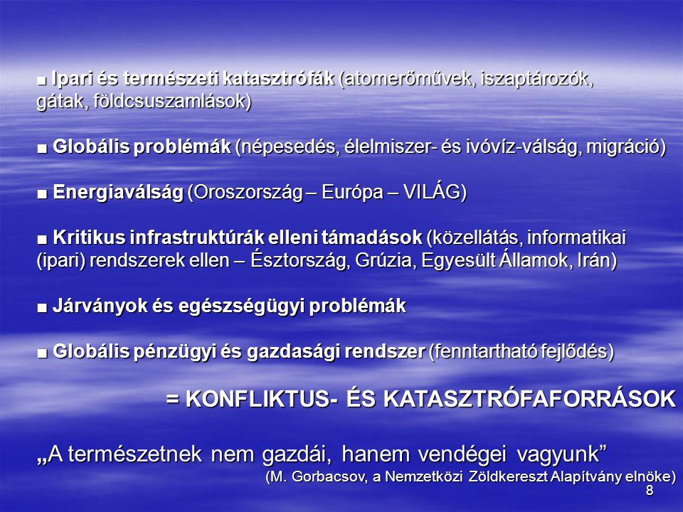 = KONFLIKTUS- ÉS KATASZTRÓFAFORRÁSOK