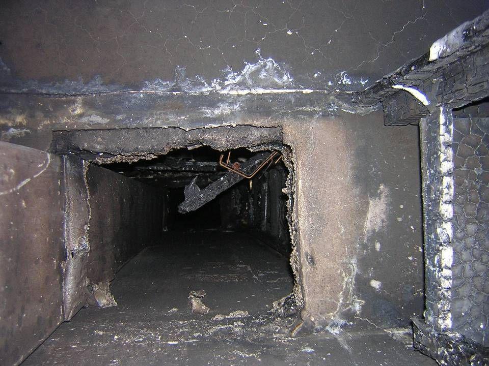 Az épület általános tűzvédelmi színvonalának