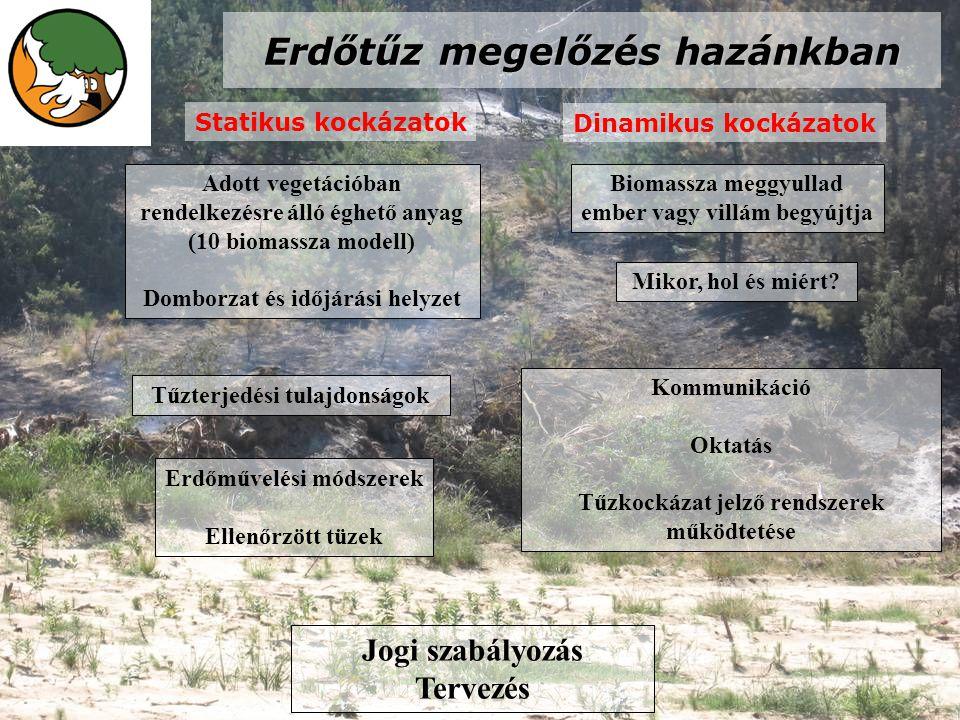 Erdőtűz megelőzés hazánkban