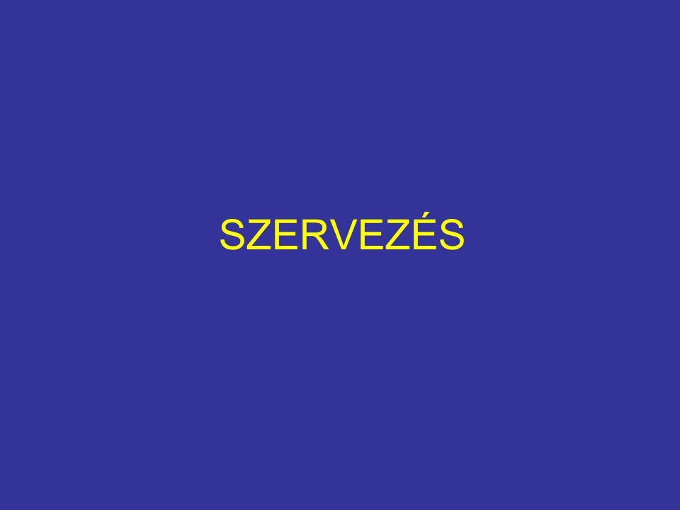 SZERVEZÉS