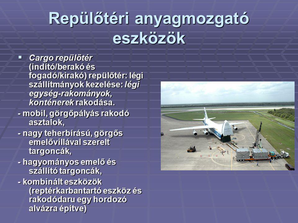 Repülőtéri anyagmozgató eszközök