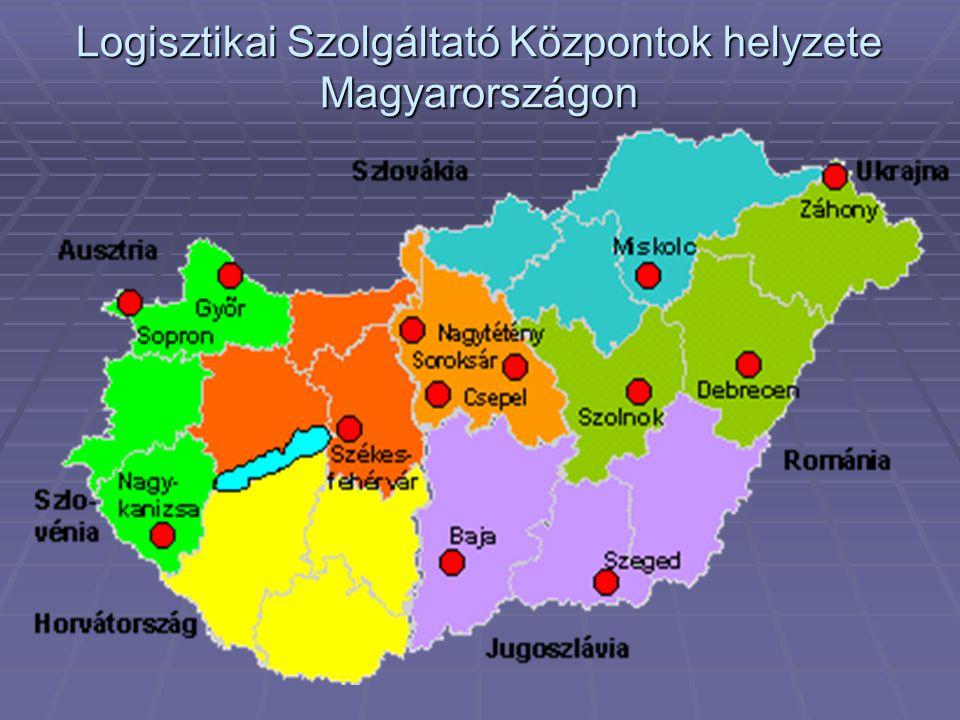 Logisztikai Szolgáltató Központok helyzete Magyarországon
