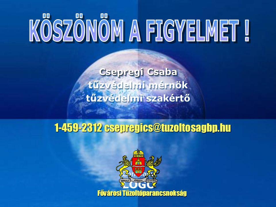 Csepregi Csaba tűzvédelmi mérnök tűzvédelmi szakértő