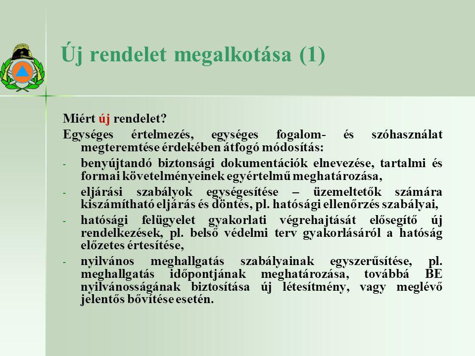 Új rendelet megalkotása (1)