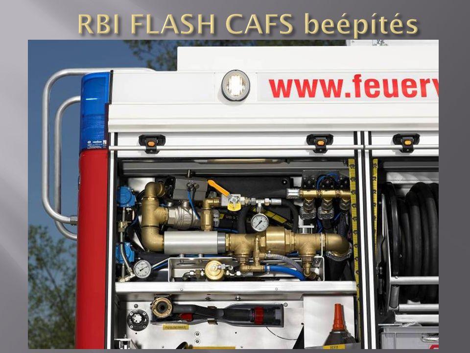 RBI FLASH CAFS beépítés