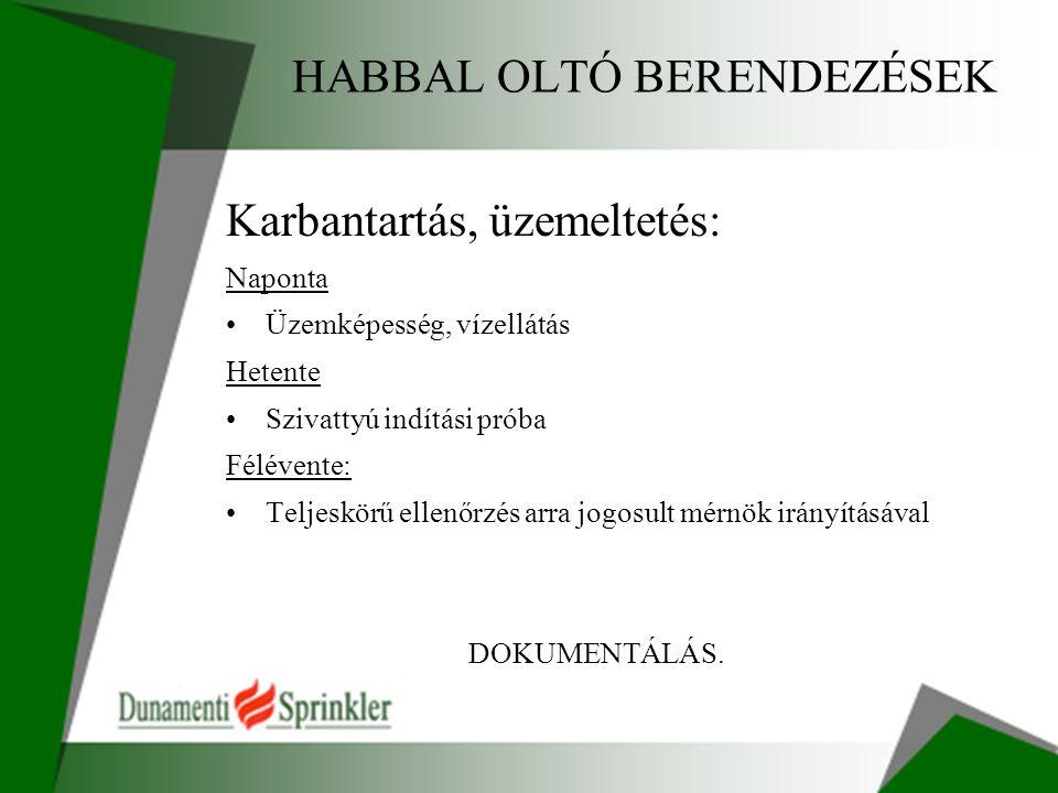 HABBAL OLTÓ BERENDEZÉSEK