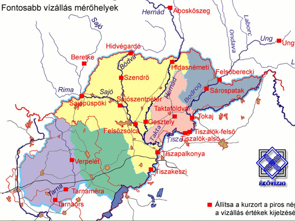 Borsod-Abaúj-Zemplén megye az ország negyedik legsűrűbben lakott, legtöbb településsel rendelkező megyéje. A magas településszám a sajátos település-földrajzi adottságokra vezethető vissza. A 358 településen (ebből 23 város) 746 ezren élnek, melyből 127 településen közel 150 ezer ember van kitéve árvízveszélynek.