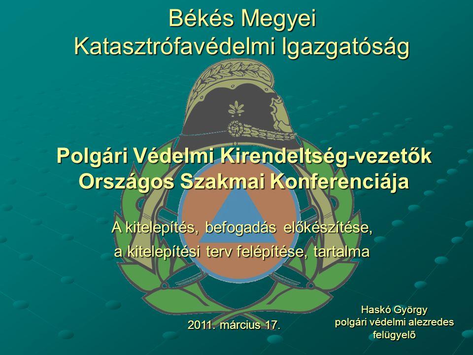 Békés Megyei Katasztrófavédelmi Igazgatóság