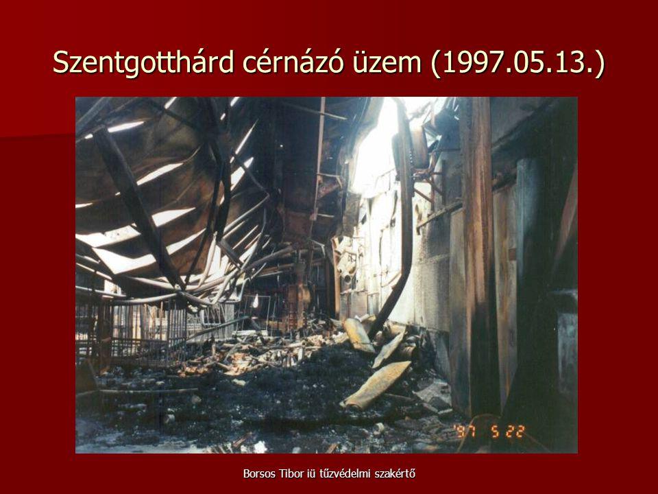 Szentgotthárd cérnázó üzem (1997.05.13.)