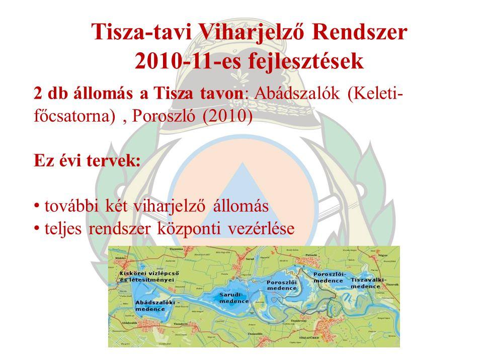 Tisza-tavi Viharjelző Rendszer
