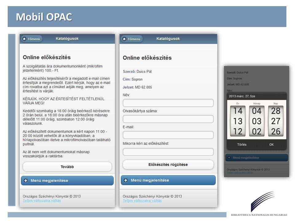 Mobil OPAC