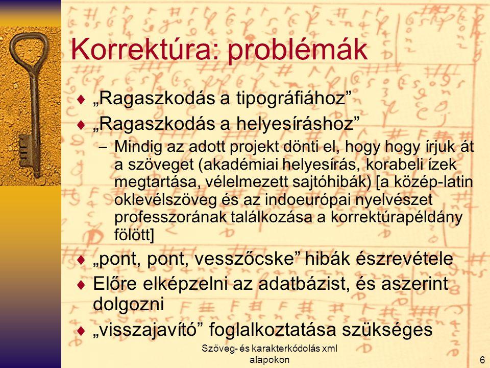 Korrektúra: problémák