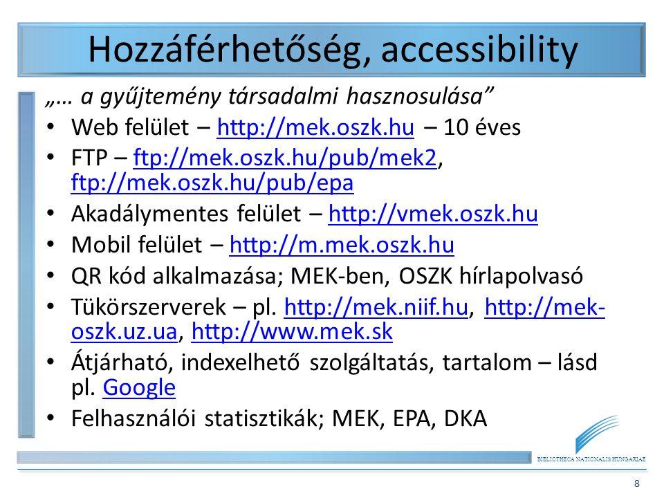 Hozzáférhetőség, accessibility