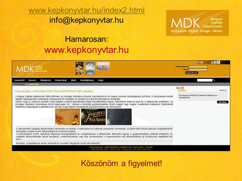 www.kepkonyvtar.hu www.kepkonyvtar.hu/index2.html info@kepkonyvtar.hu