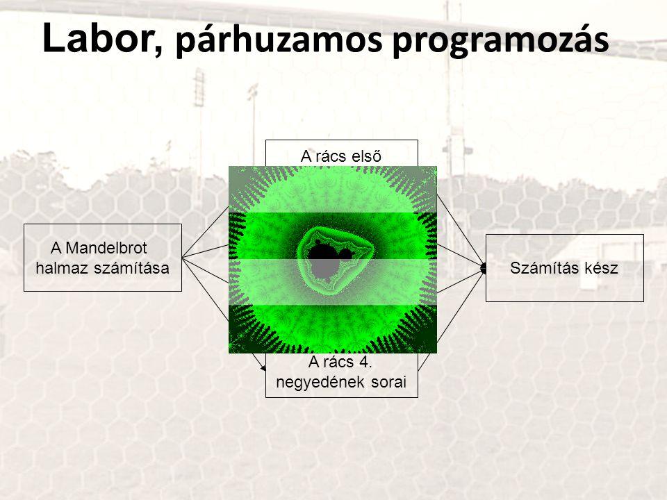 Labor, párhuzamos programozás