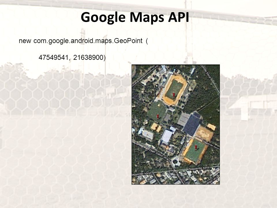 Google Maps API new com.google.android.maps.GeoPoint (