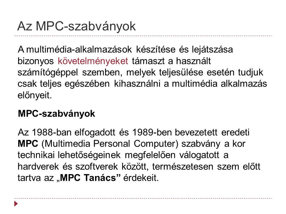 Az MPC-szabványok